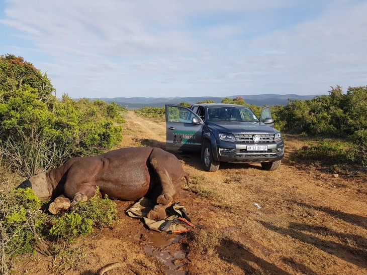 Volkswagen Commercial Vehicles Supports Fight Against Rhino Poaching 1 1800x1800