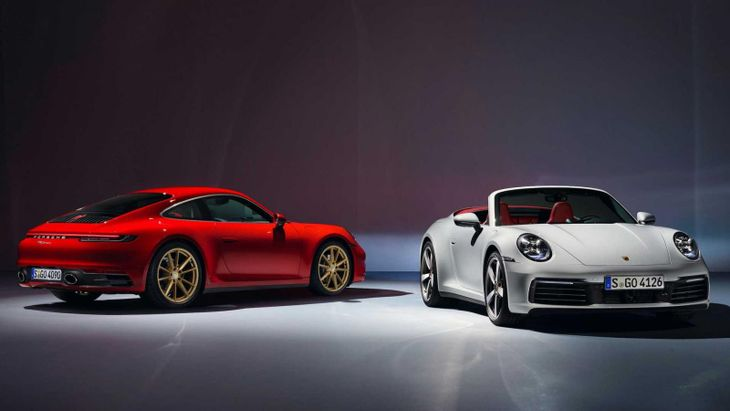 2020 Porsche 911 Carrera And Cabriolet