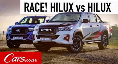 Race! Toyota Hilux GR Sport vs Hilux Legend 50 - Off-road Shootout