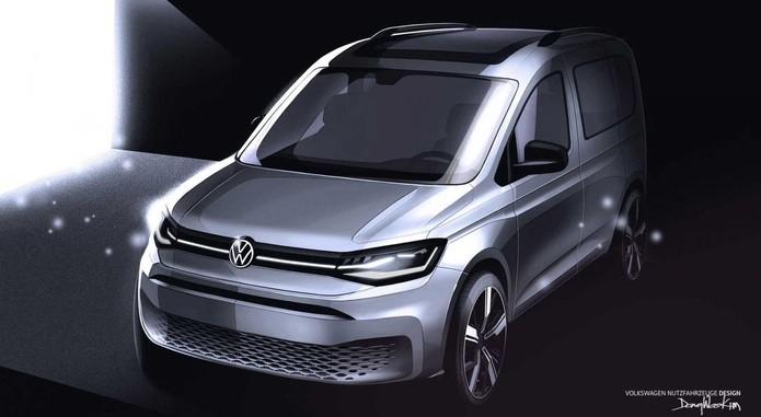 Volkswagen Caddy Teaser1