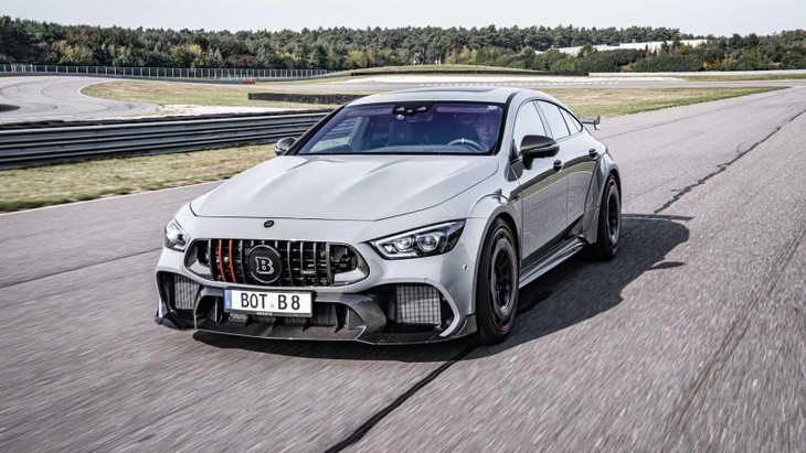Brabus 900 Rocket Based On The Mercedes Amg Gt63 S3
