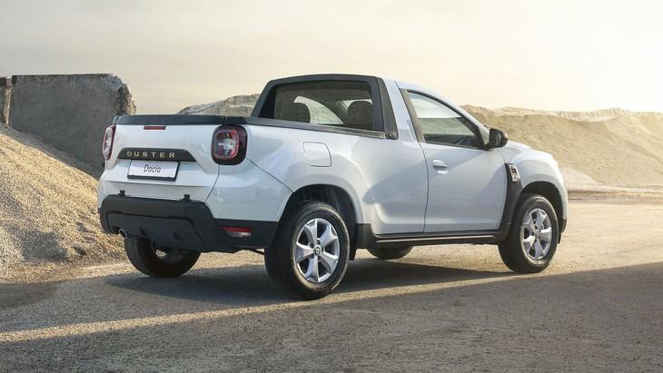 2021 Dacia Duster Pick Up Romanian Spec 1