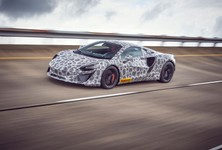 All New High Performance Hybrid McLaren Supercar 01