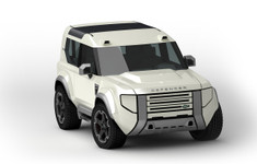 Land Rover Baby Defender Render 2