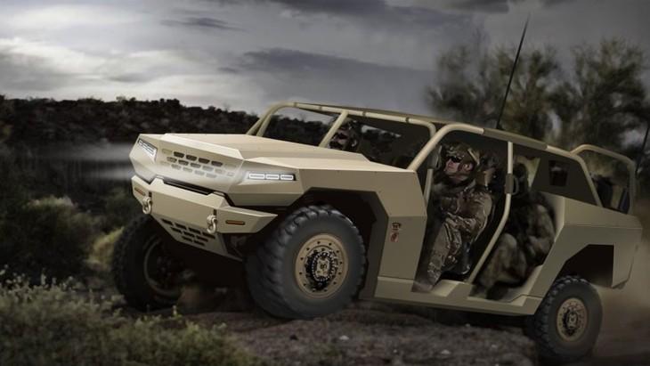 Kia Military Vehicle Rendering 1
