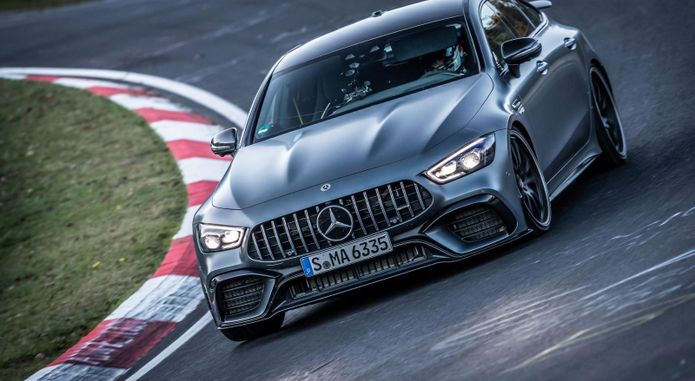 Mercedes AMG GT 63 S Ring Record 6