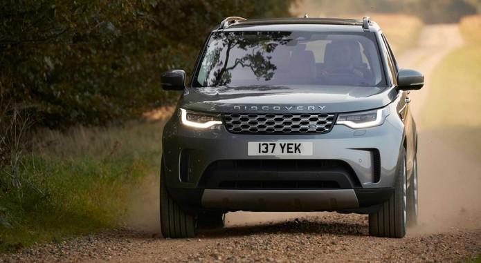 2021 Land Rover Discovery Exterior Front Quarter