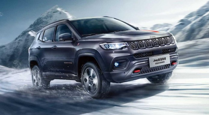 New Jeep Compass Front 3 4