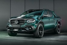 Mercedes Benz X Class Racing Green By Carlex Design 6