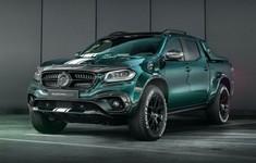 Mercedes Benz X Class Racing Green By Carlex Design 6