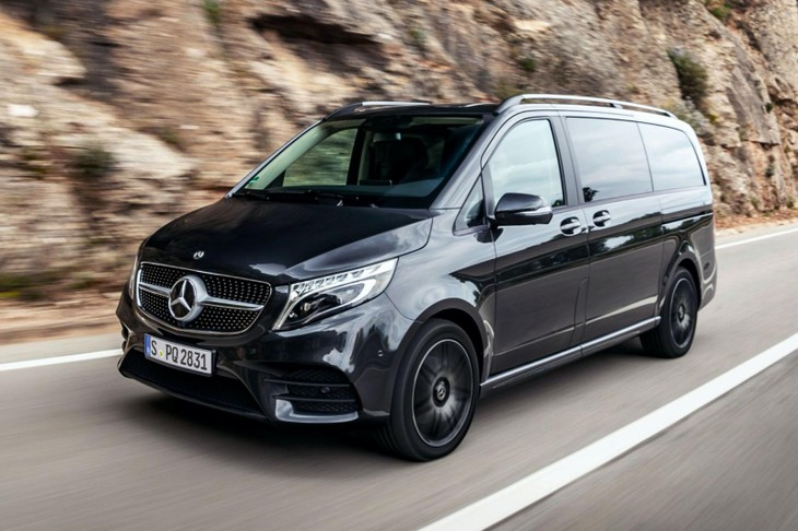 2021 Mercedes Benz V Class 9