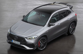 Mercedes-AMG GLA 45: Powerful, if a bit pointless...