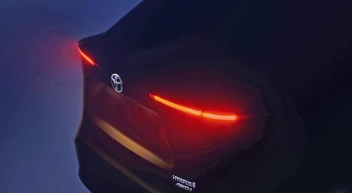 Toyota B Suv Teaser Image