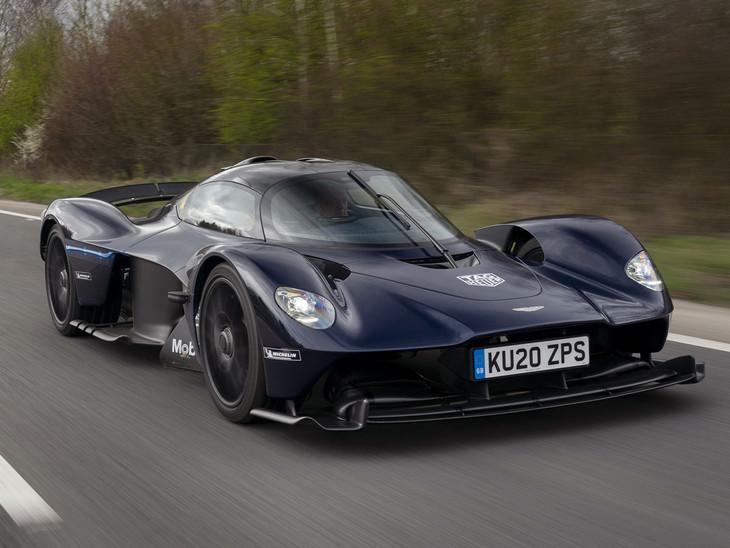 Aston Martin Valkyrie Hits The Road Cars Co Za
