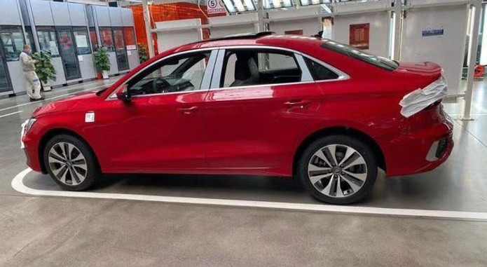 2020 Audi A3l Long Wheelbase China 1