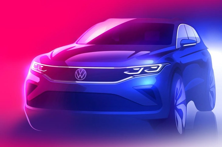Vw Tiguan Sketch