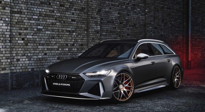 Audi Rs6 Avant By Wheelsandmore2