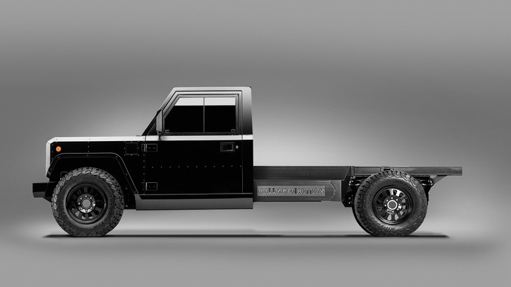 Bollinger Motors B2 Chassis Cab 2 Door Side