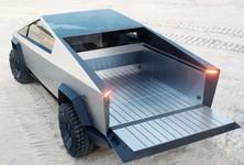 Tesla Cybertruck Tailgate Open