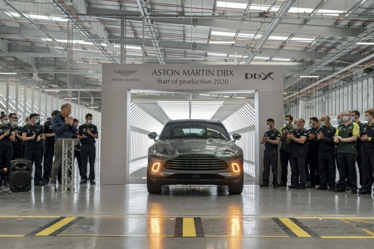 Aston Martin Dbx Production St Athan Wales 2