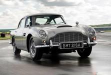 First Aston Martin Db5 Goldfinger Continuation Car