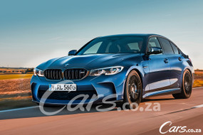 BMW M3 (2020) International Prototype Drive