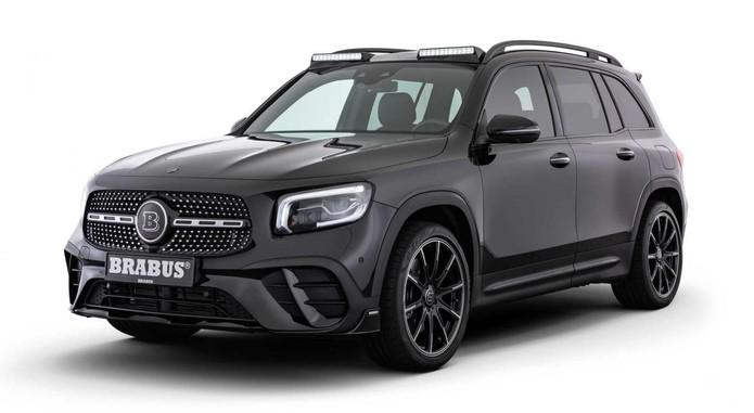 2021 Brabus Mercedes Benz Glbfrntmain