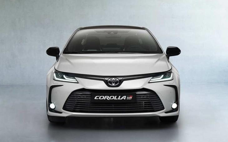 2021 Toyota Corolla Sedan GR Sport Front