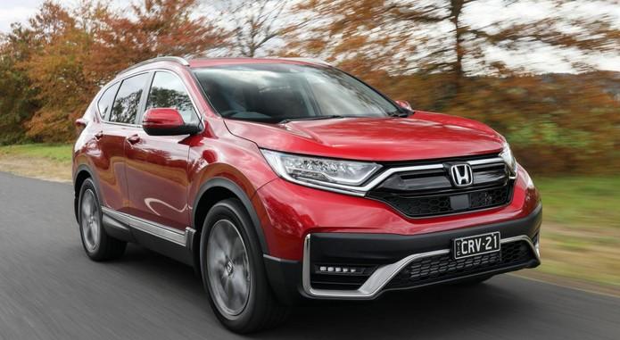 2021 Honda CR V 6