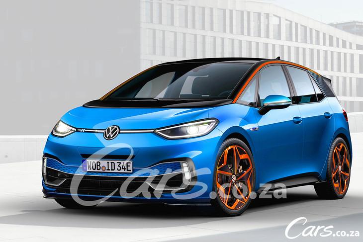 Volkswagen ID3R Render