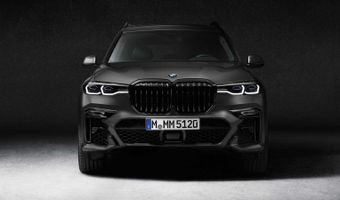 2021 Bmw X7 Dark Shadow Edition Front
