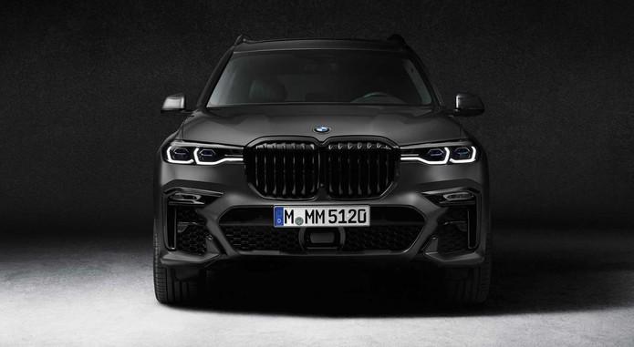2021 Bmw X7 Dark Shadow Edition Front