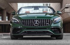 Mercedes Benz S63 Cabriolet Designo Manufaktur Deep Green