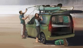 Volkswagen Caddy Mini Camper Teaser
