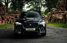 2021 Lister Stealth Jaguar F Pace Svr 7
