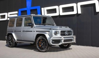 Mercedes Amg G63 Tuned By Posaidon 5