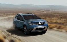 Renault Duster Techroad2020 3q Front Dirtroad
