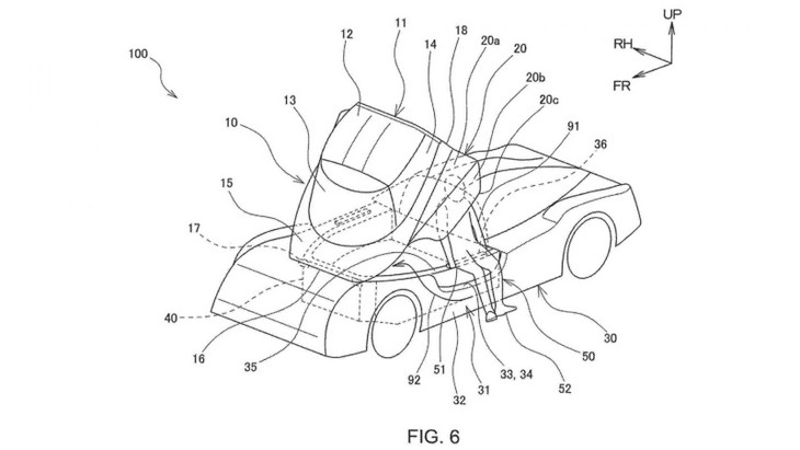 Toyota Canopy Patent