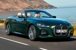 BMW 4 Series Convertible revealed: It's not subtle