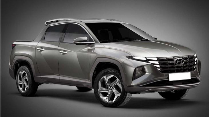 Hyundai Santa Cruz Truck With 2022 Tucson Cues