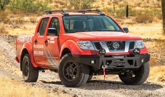 2020 Nissan Frontier Front 3 4