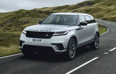 Range Rover Velar Driving Silver Front 1 Lead Scaled