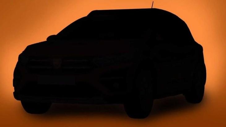 2021 Dacia Sandero Stepway Teaser