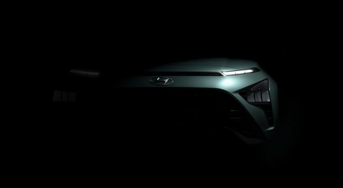 Hyundai Teases Bayon Crossover Design 1