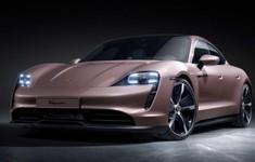2021 Porsche Taycan Front Quarter
