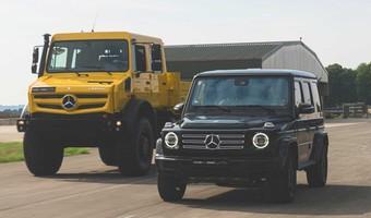 Mercedes Unimog Meets The G Class