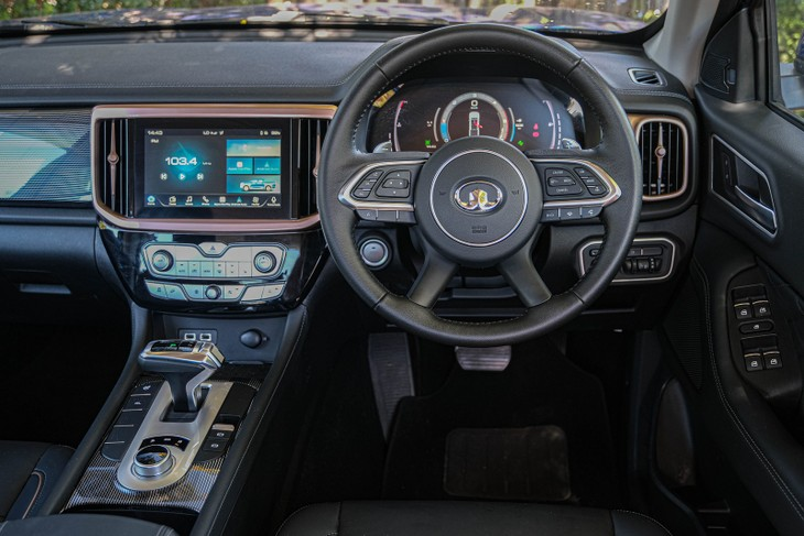 GWM P-Series Interior
