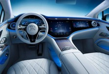 2022 Mercedes Benz Eqs Interior