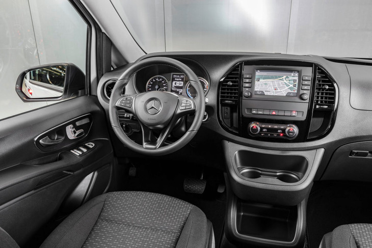 Mercedes-Benz Vito interior
