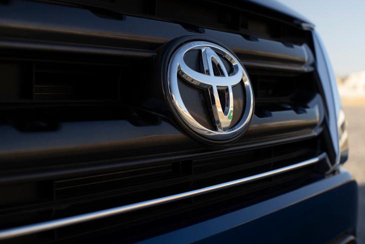 Toyota urban cruiser badge